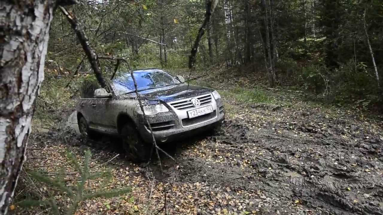 Best Snow Tires >> Touareg mud offroad with snow chains - YouTube