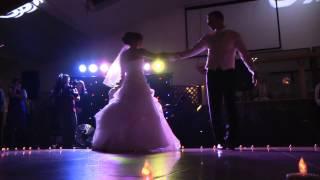 Valentin und Irina Bauer. Свадьба моей дочери. Танец жениха и невесты... Аж мурашки по коже