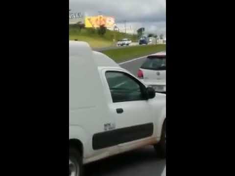Vídeo mostra momento do assalto a carro forte em Atibaia
