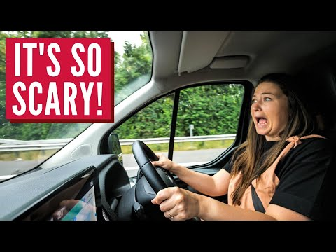German Autobahn First Experience | What It's REALLY Like | Vanlife Europe Campervan Series ep 6