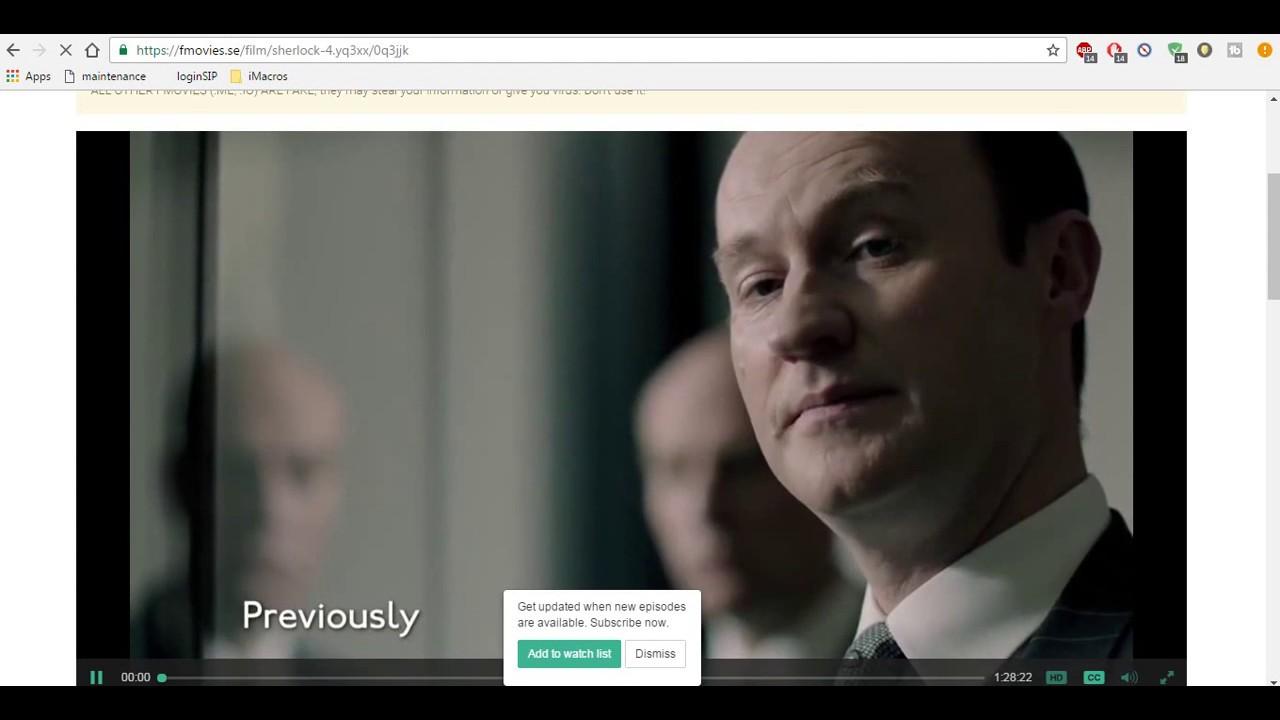 Fmovies - How To Watch Sherlock Season 4 Online