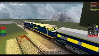 ROBLOX Funeral Train Leaving Fuller Yard