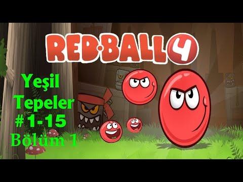 RED BALL 4 YEŞİL TEPELER BAŞLADIK! BOSS!   YUSUF EREN VE ECEM BEYZA İLE KIRMIZI TOP OYNUYORUZ #1