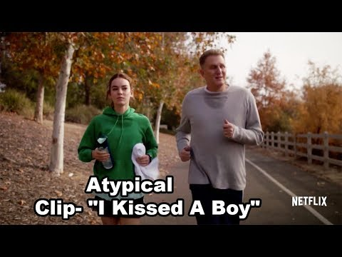 "Atypical Clip  ""I Kissed A Boy"" - Netflix - chefhawk 2017 HD"