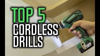 Best Cordless Drills in 2018 - Which Is The Best Cordless Drill?