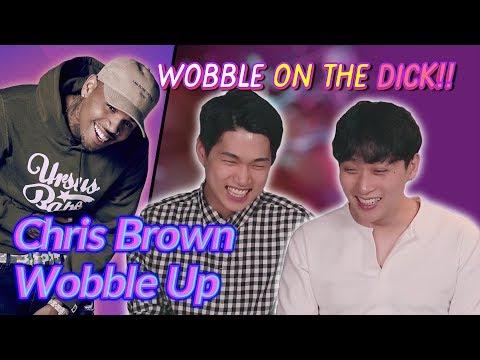 K-pop Artist Reaction Chris Brown - Wobble Up ft Nicki Minaj G-Eazy