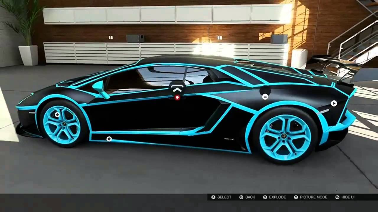 tron lamborghini aventador youtube. Black Bedroom Furniture Sets. Home Design Ideas