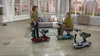 EV Rider Automatic Folding Scooter with Remote on QVC