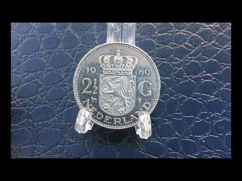Coin Netherlands 2½ gulden 1980 - NEDERLAND