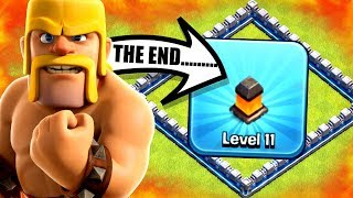 THE END OF LAVA WALLS IN CLASH OF CLANS! 🔥