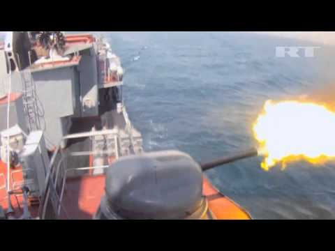 CHINESE & Russian WARSHIPS in ACTION 2012 | DEFENCE NEWS | [*Archive Footage]