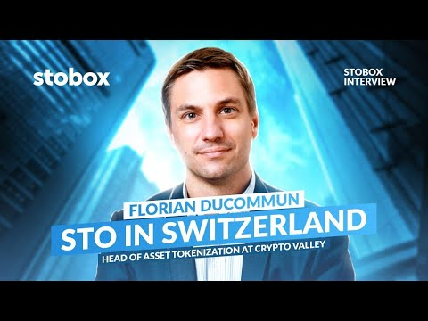 Interview with Head of Asset Tokenization at Crypto Valley – security token offering in Switzerland