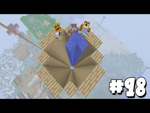 Minecraft Xbox - Sky Island Challenge - The Dropper!! [98]