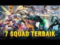 7 SQUAD TERBAIK SEASON 15 | Mobile Legends: Bang Bang