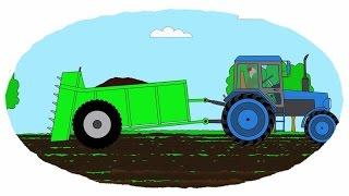 Das Zeichentrick-Malbuch -  Traktorenanhänger
