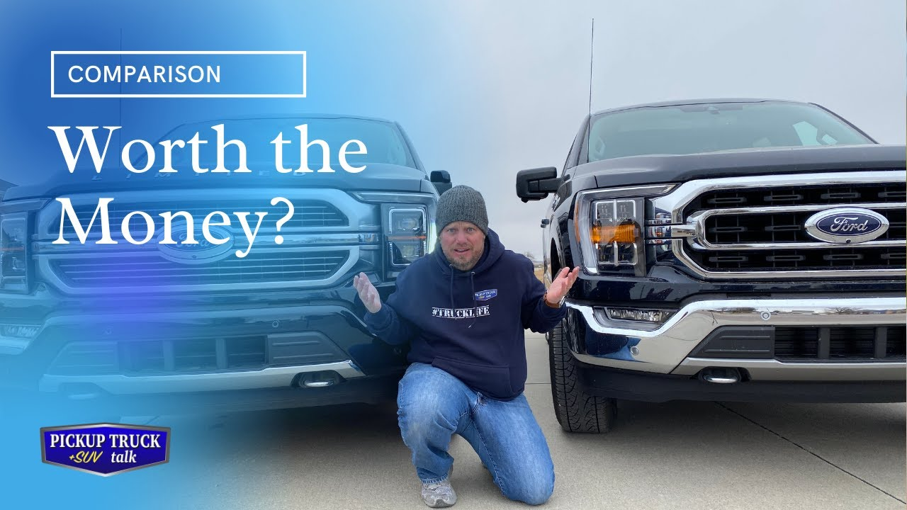 Is it worth $20k more? 2021 Ford F-150 XLT vs Limited