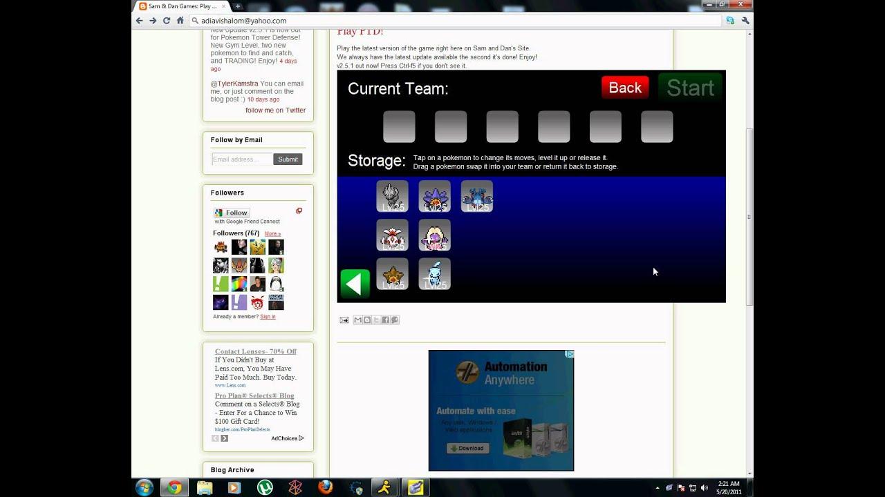 Pokemon center ptd 2 trading center - Pokemon Tower Defense All Available Pokemon V2 5 1