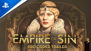 Top PlayStation Games | Empire Of Sin - Trailer