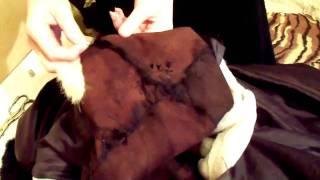 Как отремонтировать шубу, How to Repair a Fur Coat(Шить может каждый. Что делать, если шуба износилась и на ней проплешины? Смотрите видео. How to repair a fur coat with..., 2012-01-16T19:43:34.000Z)