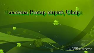 Airport Udaipur Rajasthan ।। उदयपुर एयपोर्ट ।। Udaipur AIRPORT