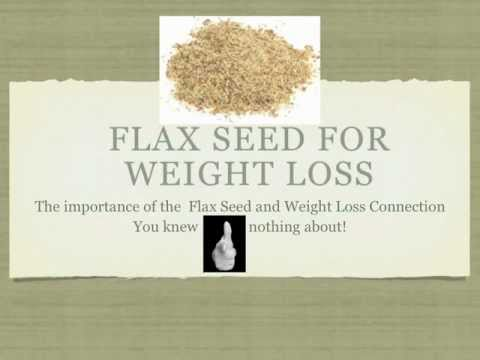 How to Use Flax Seed for Weight Loss Saturday Morning Diet - YouTube