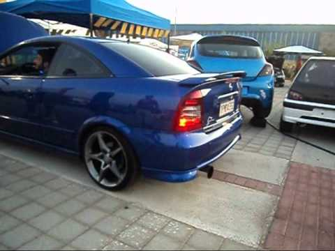 opel astra g coupe bertone exhaust sound by vxr zap youtube. Black Bedroom Furniture Sets. Home Design Ideas
