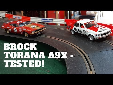Holden Torana A9X – Peter Brock 05 – Scalextric Slot Car Review