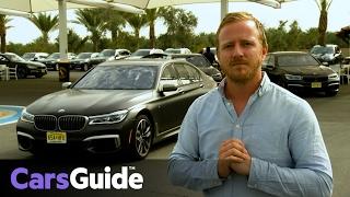 BMW M760Li xDrive 2017 review | first drive video