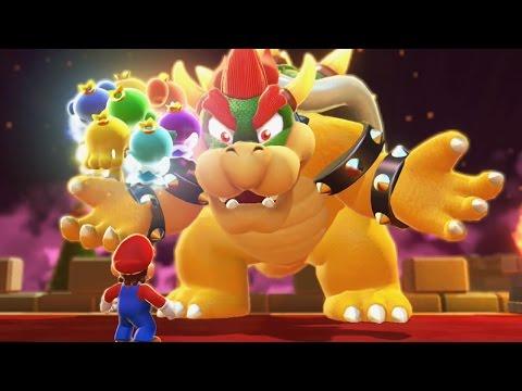 Super Mario 3D World 100% Walkthrough Part 7 - World 7 (All Green Stars & Stamps)