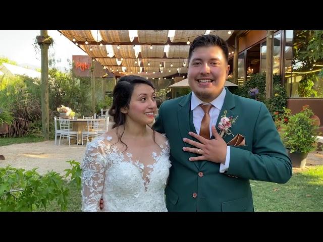 Evelyn y Josué