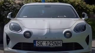 Alpine A110 2018 test PL Pertyn Ględzi