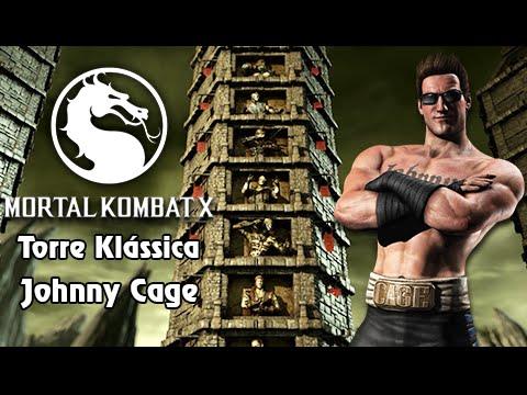Mortal Kombat X: Fazendo Torre Klássica com Johnny Cage