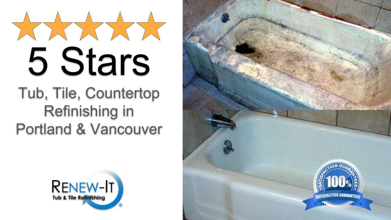 Best Tub Refinishing in Salem OR Guaranteed 971-239-1179 - YouTube