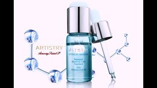 Artistry Intensive Skincare средства с витамином С и гиалуроновой кислотой от Amway.
