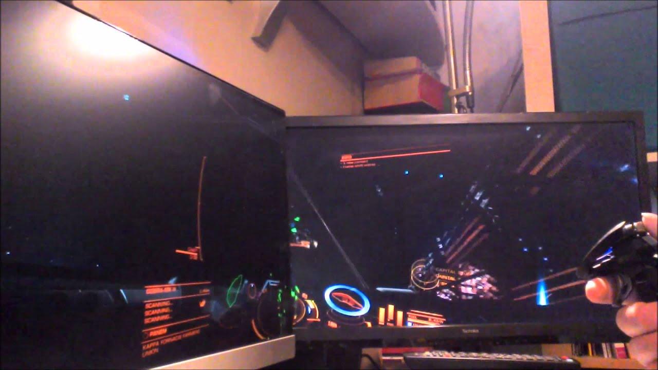 t0xic 5hock demos Elite running on dual monitors