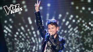 Youjuand canta Rolling in the Deep - Audiciones a ciegas | La Voz Kids Colombia 2018
