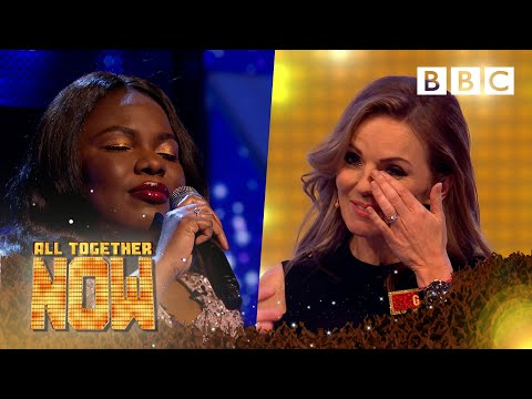 Inspiring blind singer Victoria Oruwari brings judge Geri to tears - All Together Now