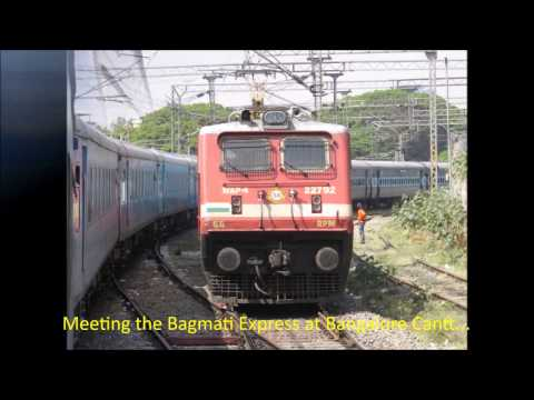Chennai Mysore Shatabdi Express: Full Journey Compilation