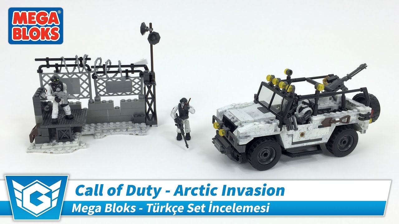MEGA BLOKS Call of Duty | Arctic Invasion | Türkçe Mega Bloks İncelemesi | Set 06879