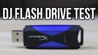 Flash Drive Showdown! The best USB for DJs!