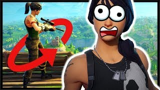 When You *360* In FORTNITE But Have Zero Skills! | Fortnite Battle Royale Gameplay