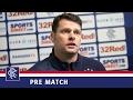 PREMATCH | Graeme Murty | Rangers v Morton