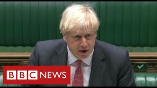 Boris Johnson wins Commons backing for Brexit powers that breach international law - BBC News
