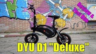 Sepeda Listrik F-Wheel DYU D1 Electric Folding Bike Apps Control