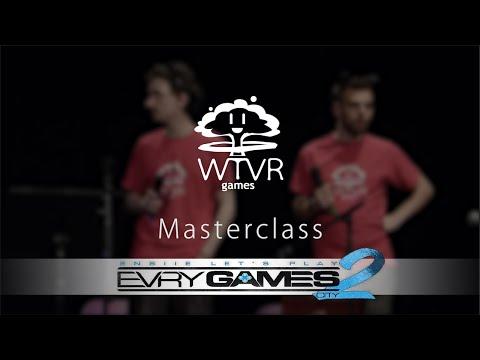 Créer un jeu vidéo : WTVR Masterclass @ Evry Games City 2