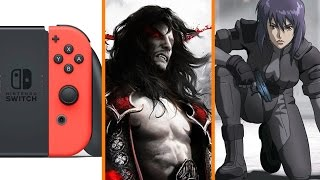 Nintendo Switch Bigger Than Wii? + Konami Does a Konami + New Ghost in the Shell Anime - The Know