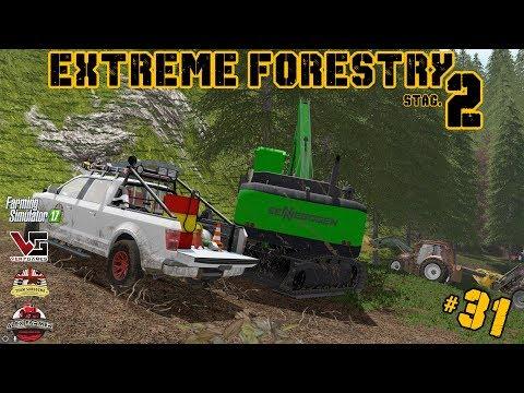 EXTREME FORESTRY STAGIONE 2 | #31 ep. -  ESBOSCO CON SENNEBOGEN - FARMING SIMULATOR 17