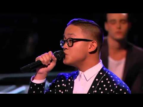 The Voice 2015 || Top 10 Knockouts || Nathan Hermida ||  Leave Your Lover
