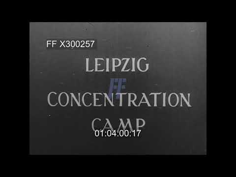 Leipzig & Penig Concentration Camps - 300257X | Footage Farm