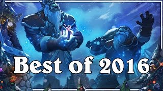 Funny And Lucky Moments - Hearthstone - Best Of 2016